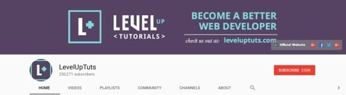 Level Up Tutorials
