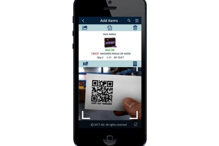 Order Shark. Mobile sales entry for your customers or reps right on their personal device.