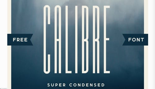 Calibre Super Condensed
