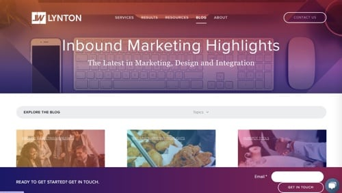 LyntonWeb's Inbound Marketing