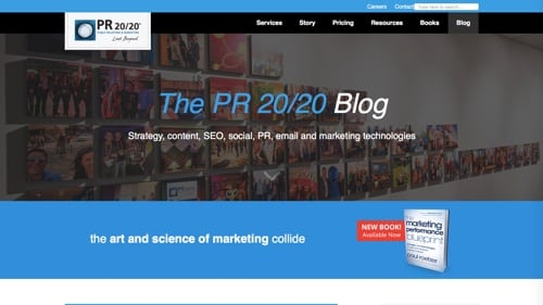The PR 20/20 Blog