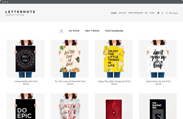 Pixpa is a website builder for creatives.