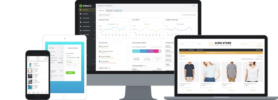 TradeGecko, the complete inventory and order management system with your own B2B ecommerce platform and mobile app.