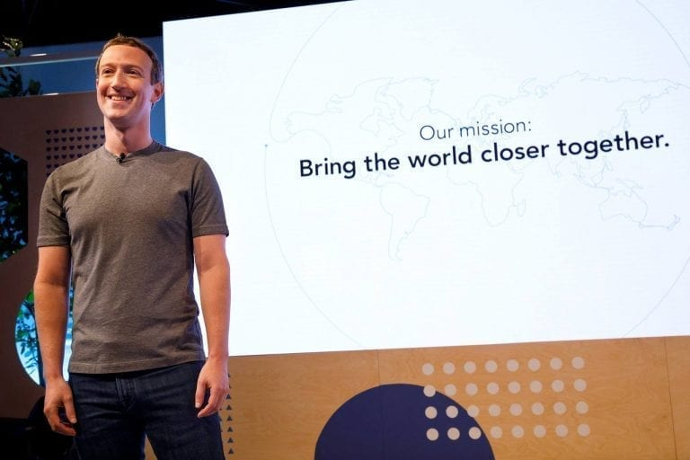 Facebook founder, chairman, and CEO Mark Zuckerberg believes community is important.
