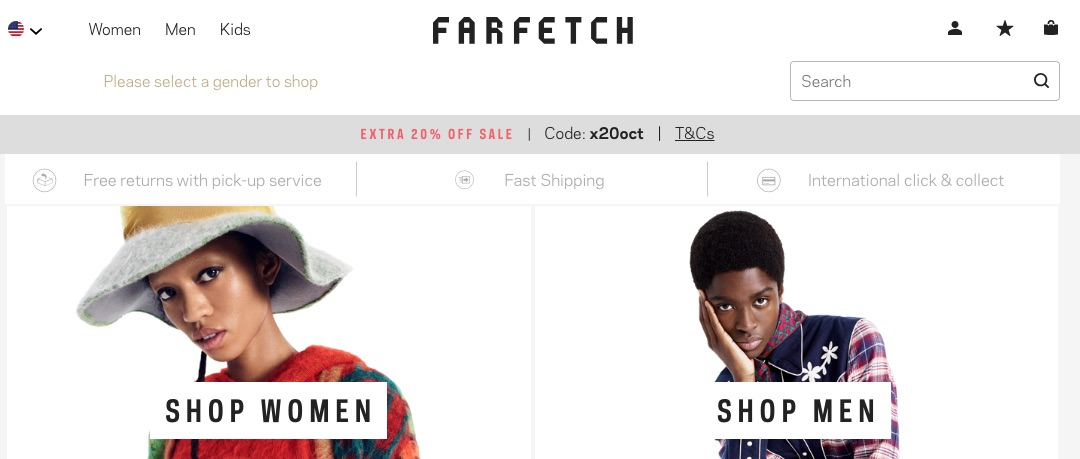 Farfetch, an online luxury-fashion marketplace, issued public shares on Sept. 21 on the New York Stock Exchange.