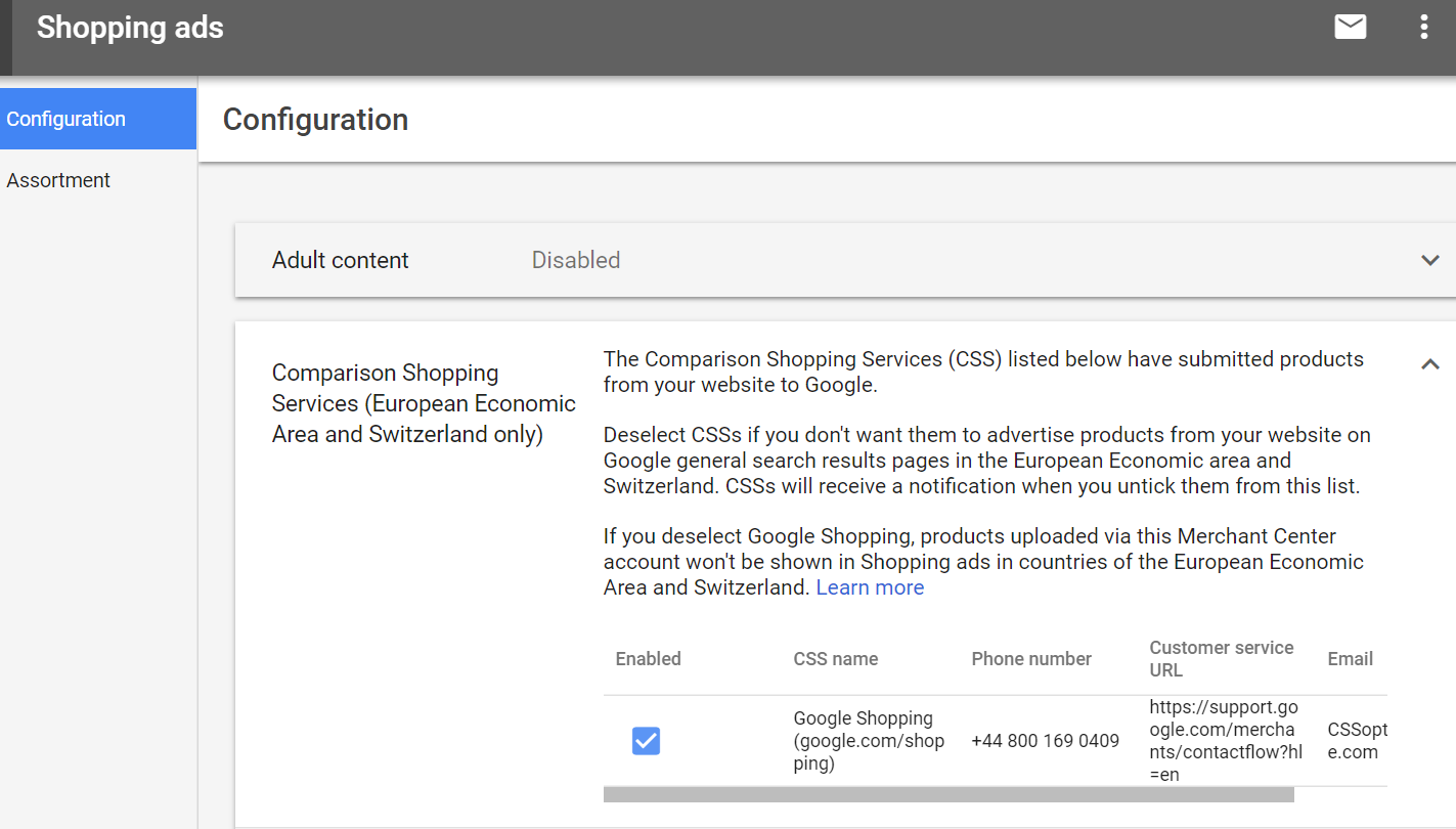 Merchants can now opt out of the Google Shopping setup and, instead, use comparison shopping partners, who can offer discounted clicks of up to 25 percent in European countries only.