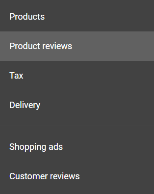 Merchants can consider advanced options for product and customer reviews, as examples.