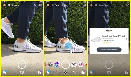 Snapchat Visual Search