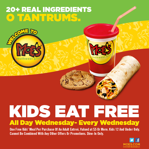 "This message from Moe's Southwest Grill — ""Kids Eat Free"" — would presumably appeal only to recipients with children."