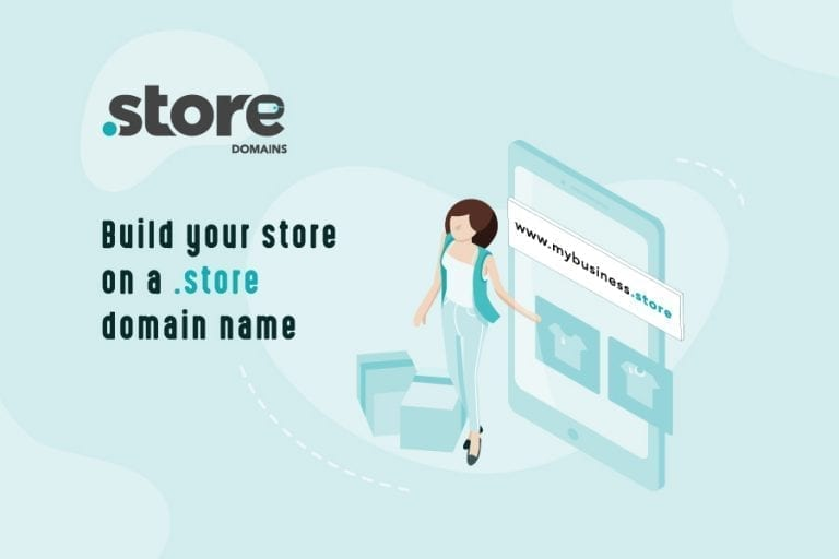 Domain extension that focuses on the ecommerce market and helps brands create a dedicated URL for their online store.