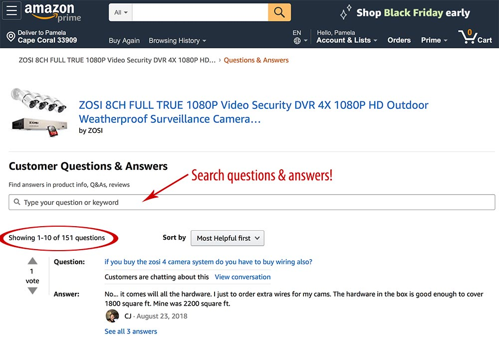 "Amazon's ""Questions & Answers"" let shopper help each other. It's a powerful sales-closing tactic."