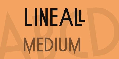 Lineall Medium