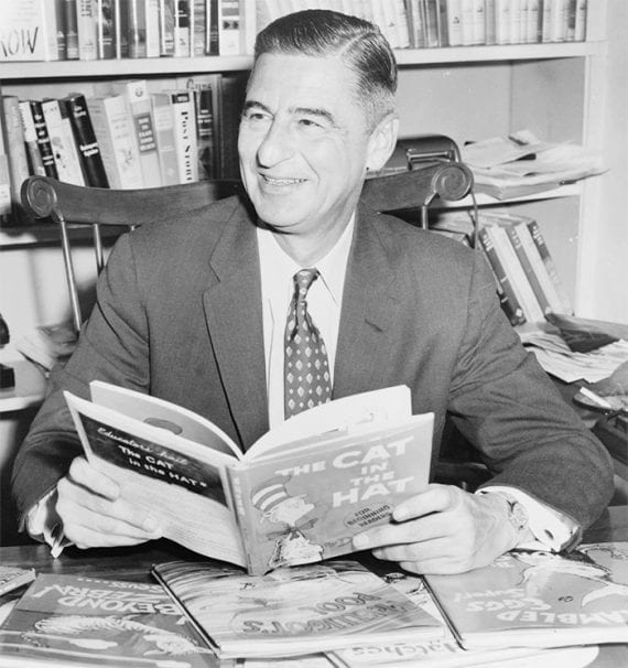 "Dr. Seuss wrote some of the most famous children's books of his era, including ""The Cat in the Hat."" Dr. Seuss' birthday is March 2. Can you work a little Dr. Seuss into your content marketing?"