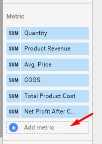 Add more metrics.