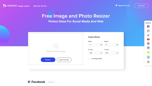 Free Image and Photo Resizer