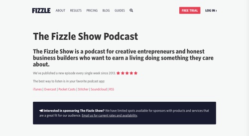 The Fizzle Show Podcast
