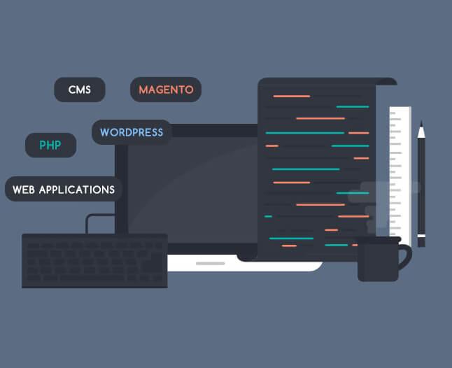 Web development services.