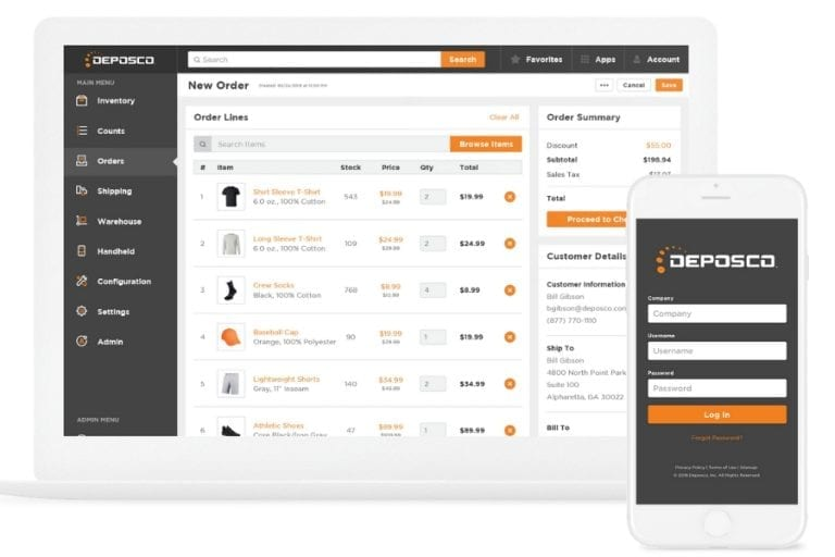 Deposco's Bright Suite offers ecommerce, retail, and omnichannel capabilities, to drive growth, improve service levels, and reduce operational costs.