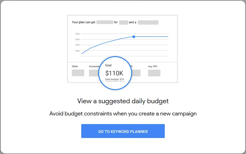 The new budgeting tool helps to produce a forecast or spending estimates for Google Ads campaigns.