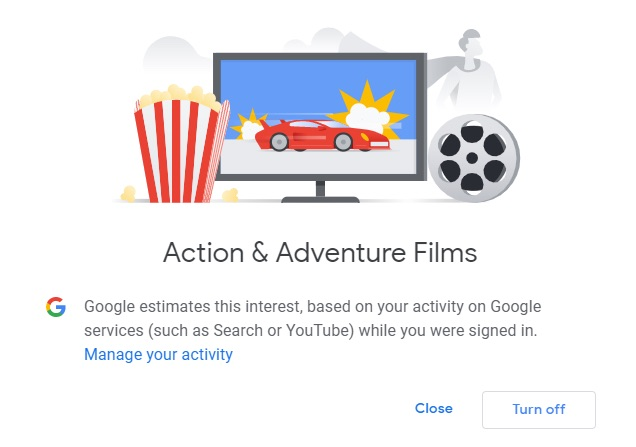 "Google knows if you watch ""Adventures: Endgame"" trailers on YouTube."