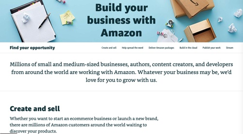 Build Your Business with Amazon