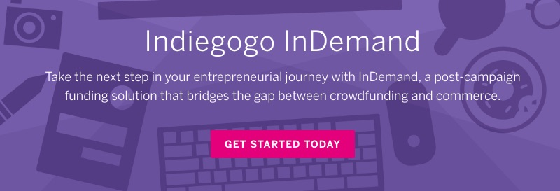 "Direct-to-consumer companies increasingly rely on crowdfunding for initial capital. Indiegogo, a crowdfunding portal, now offers ""InDemand"" to assist startups in moving from initial raises to functioning businesses."