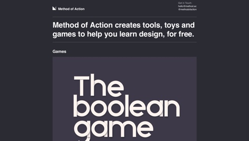 Method of Action