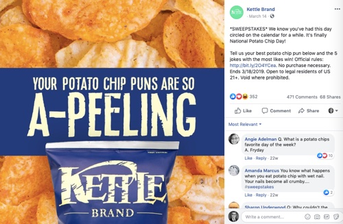 Kettle Brand on Facebook