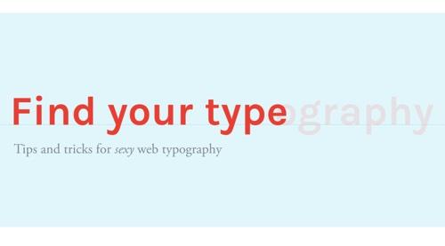 Web Typography 101