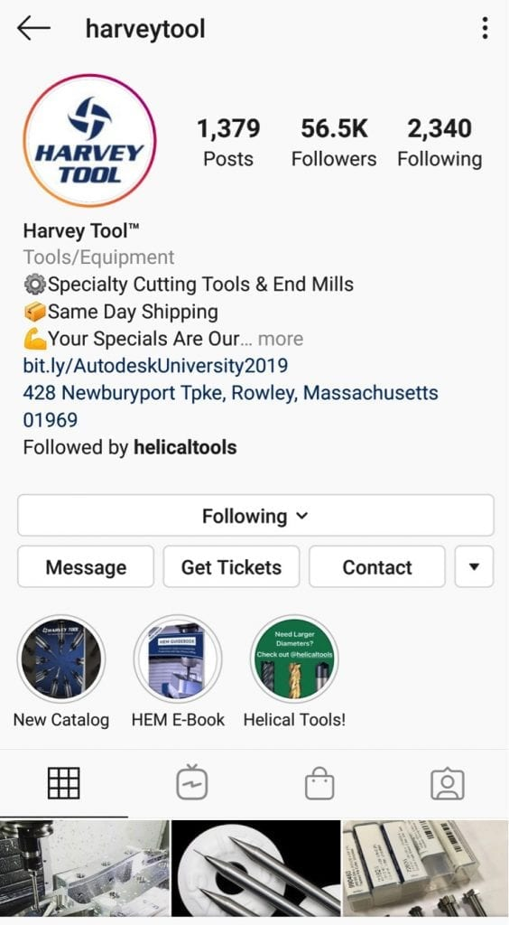Harvey Performance Company has more than 56,000 Instagram followers.