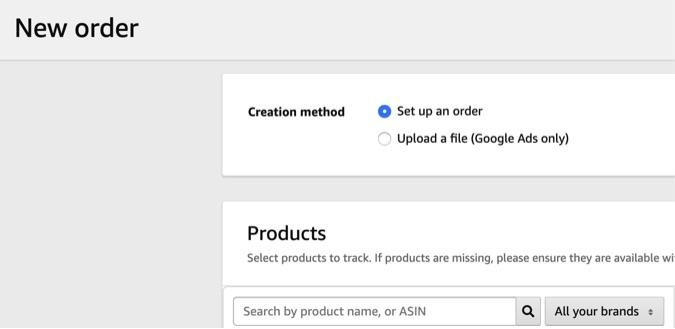 amazon product tracking