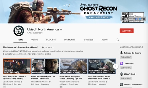 Ubisoft North American