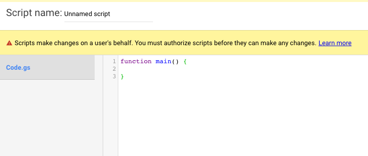 """Implement scripts in the Google Ads """"Tools &amp; Settings"""" section, at <em>Tools &amp; Settings &gt; Bulk Actions &gt; Scripts</em>."""