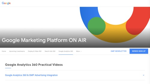 Google Marketing Platform On Air