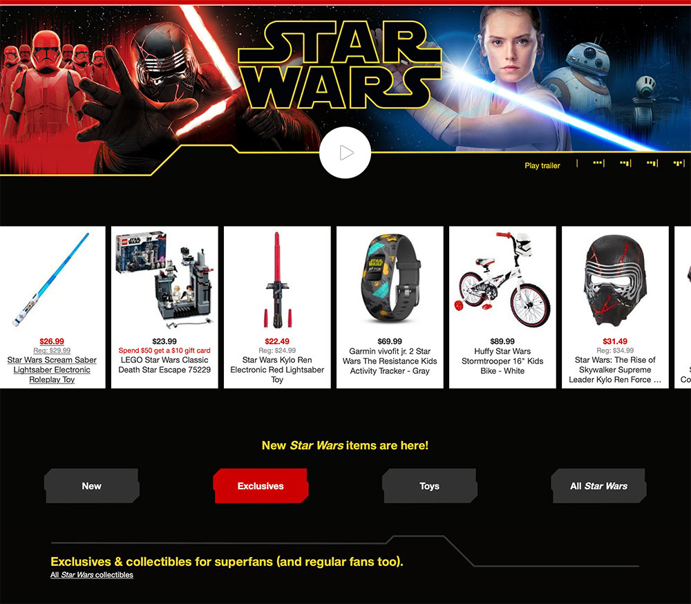 Target's Star Wars gift guide