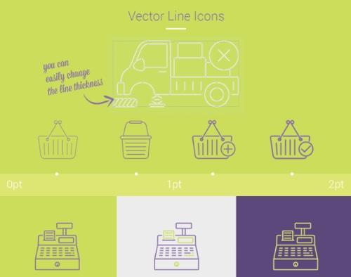 40 Free eCommerce Icons