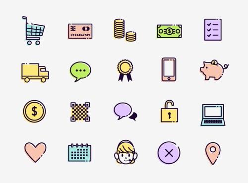 50 Free eCommerce Icons