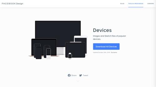 Facebook Design - Devices