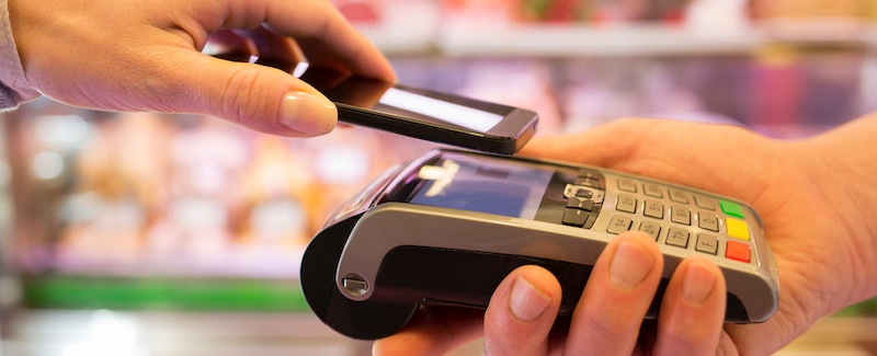 Mobile payment devices are wireless, lightweight and easy to carry. They can speed up payments in the store and eliminate customers who have to stand in line with fixed counters.