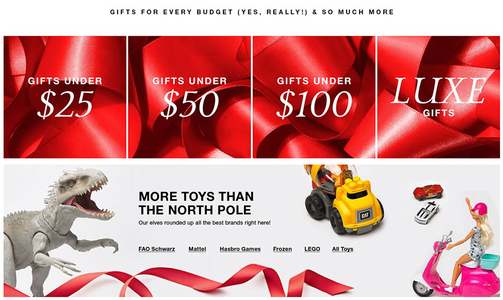 Macy's Holiday Gift Guide