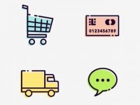 20 Free Ecommerce Icon Sets for Navigation, Design
