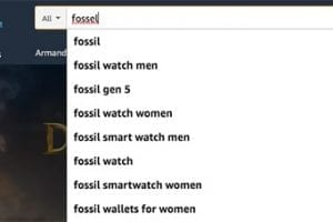 "Matching ""fossil"" with ""fossel"" is due to human intervention or machine learning."