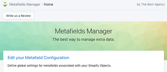 Add global metafields with the Metafields Manager app or similar.