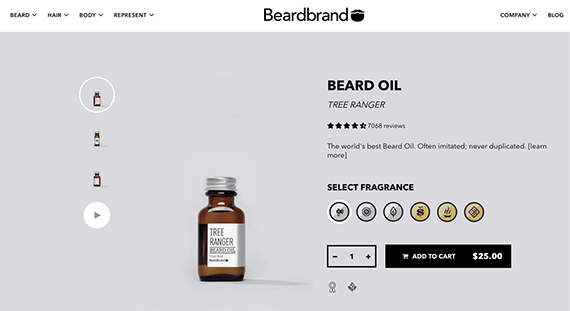 Understanding why a shopper wants to buy beard oil should make it easier to sell.