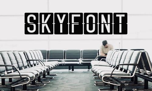 Skyfont