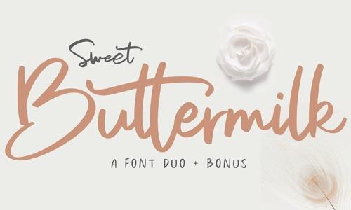 Sweet Buttermilk