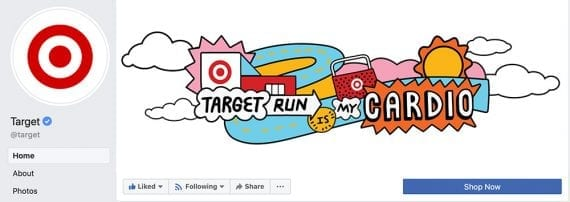 Target run is my cardio illustration presented by Target.
