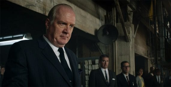 "Tracy Letts plays Henry Ford II in the movie ""Ford v Ferrari."""