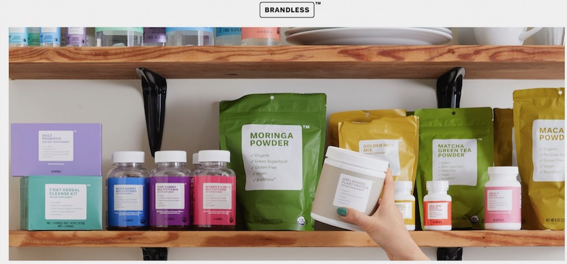 """Brandless offered """"cruelty-free"""" household, personal care, and baby goods. The company recently announced that it would shut down."""
