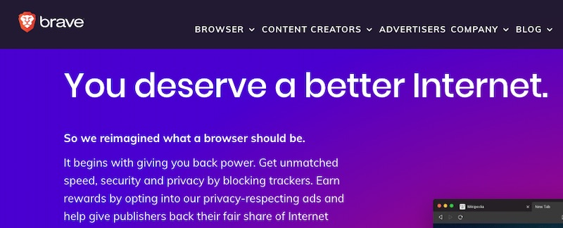 The Brave web browser launched in 2016. It has attracted privacy-focused tech enthusiasts.